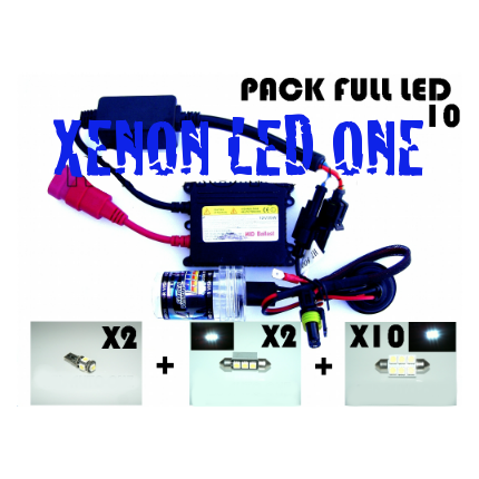PACK FULL XENON ET LED